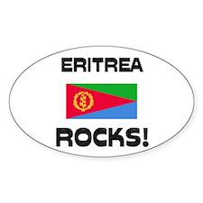 Eritrea Rocks! Oval Decal