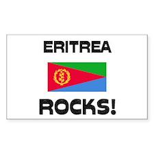 Eritrea Rocks! Rectangle Decal
