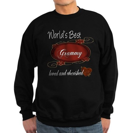 Cherished Grammy Sweatshirt (dark)