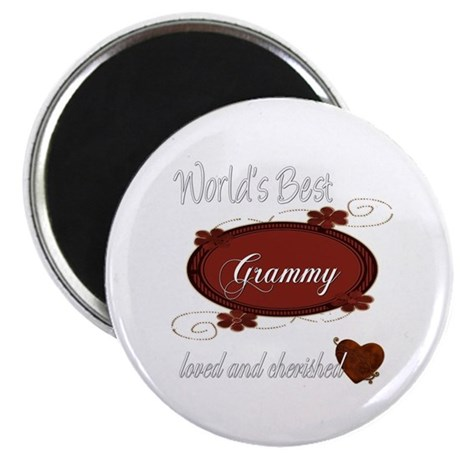 "Cherished Grammy 2.25"" Magnet (100 pack)"