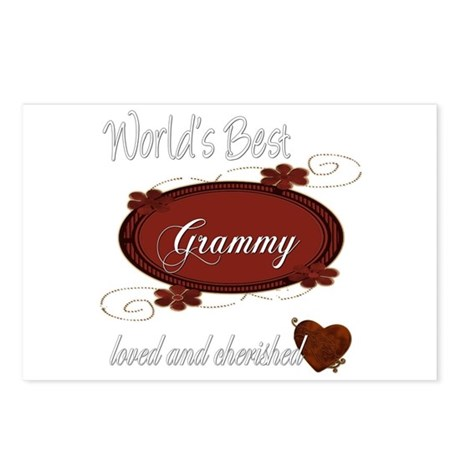 Cherished Grammy Postcards (Package of 8)