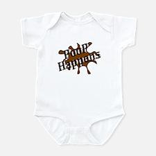 Poop Happens Infant Bodysuit