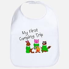 My First Camping Trip Bib