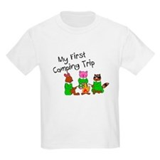 My First Camping Trip T-Shirt