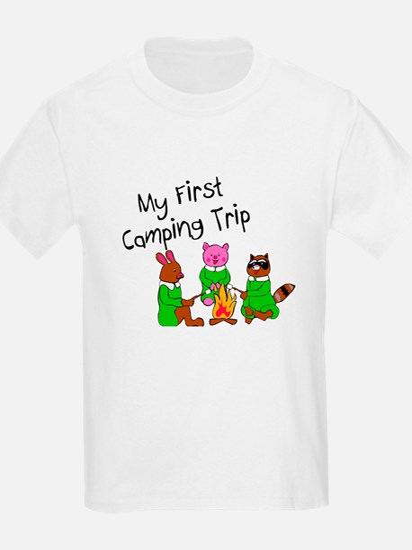 My First Camping Trip T-Shirt