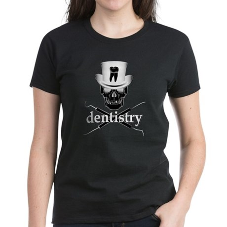 Dentistry Skull Women's Dark T-Shirt