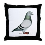 American Show Racer Throw Pillow