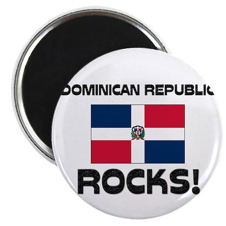 Dominican Republic Rocks! Magnet