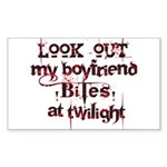 Look Out Rectangle Sticker 10 pk)