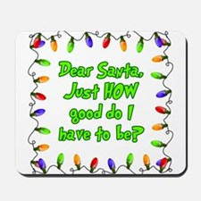 Letter to Santa Mousepad