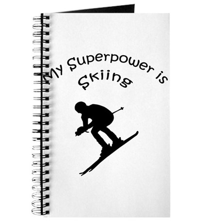 My Superpower is Skiing Journal
