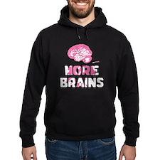 More Brains Zombie Hoodie