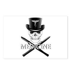 Medicine Skull Postcards (Package of 8)