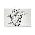 Heart Full Rectangle Magnet (10 pack)