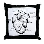Heart Full Throw Pillow