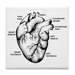 Heart Full Tile Coaster