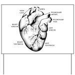 Heart Full Yard Sign