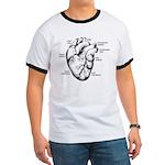 Heart Full Ringer T