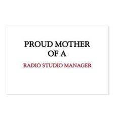 Proud Mother Of A RADIO STUDIO MANAGER Postcards (