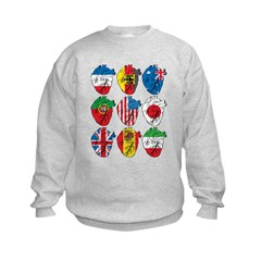 Heart Flags Sweatshirt