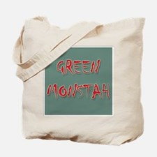 Green Monstah Tote Bag