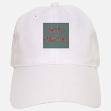 Green Monstah Baseball Baseball Cap