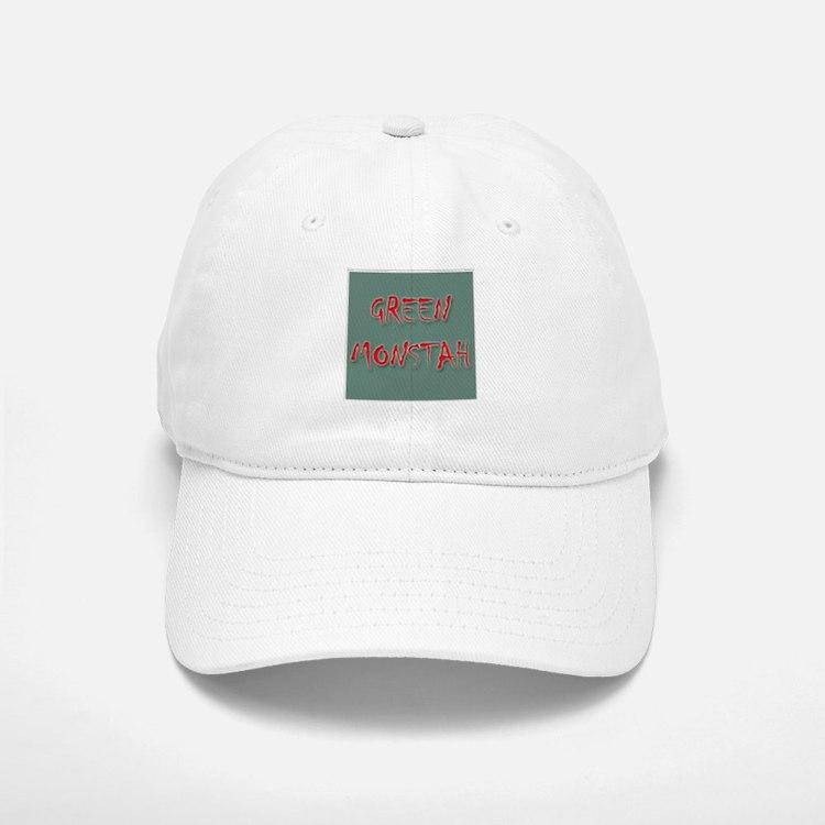 Green Monstah Baseball Baseball Cap