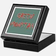 Green Monstah Keepsake Box
