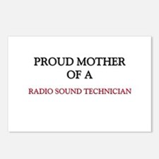 Proud Mother Of A RADIO SOUND TECHNICIAN Postcards