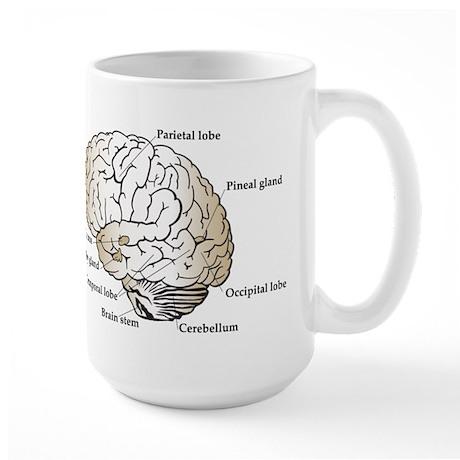 Brain Section Large Mug