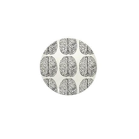 Brain 3x3 Mini Button