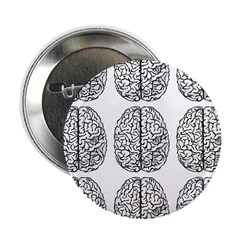 "Brain 3x3 2.25"" Button (100 pack)"