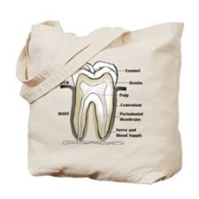Tooth Section Tote Bag