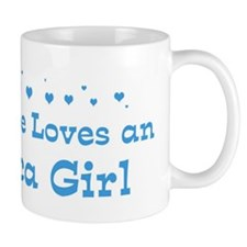 Loves Ithaca Girl Mug