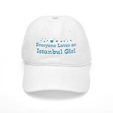 Loves Istanbul Girl Baseball Cap