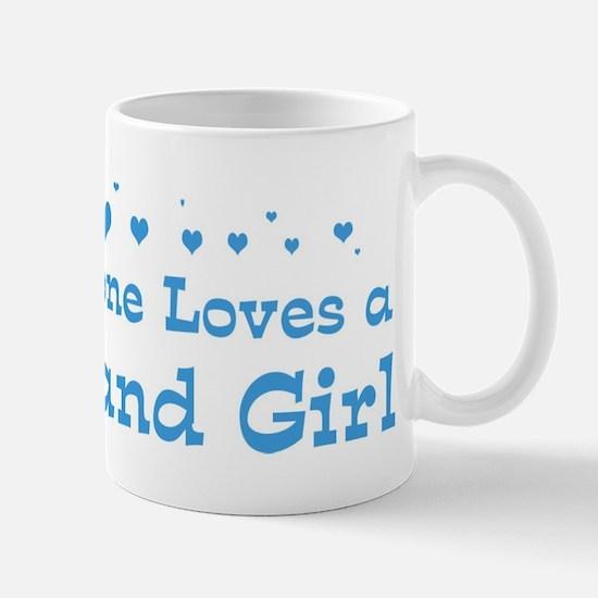 Loves Garland Girl Mug