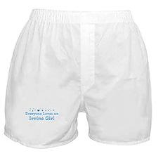 Loves Irvine Girl Boxer Shorts