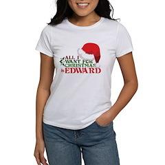 Edward for Christmas Women's T-Shirt