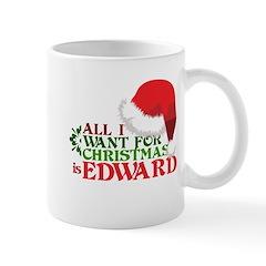Edward for Christmas Mug