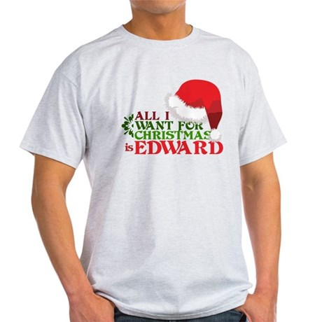 Edward for Christmas Light T-Shirt