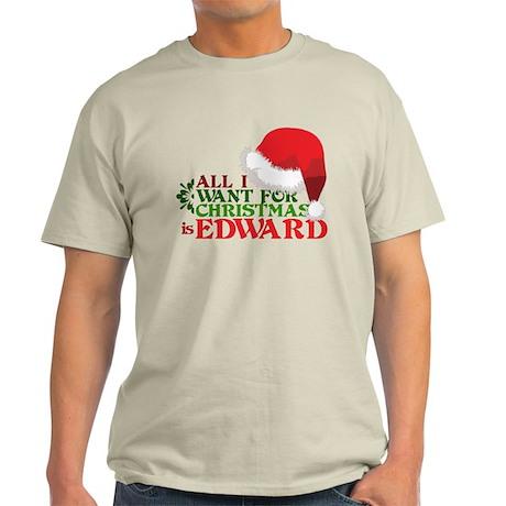 Edward for Christmas Light T-Shirt