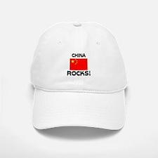 China Rocks! Baseball Baseball Cap