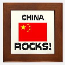China Rocks! Framed Tile