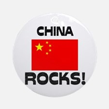 China Rocks! Ornament (Round)
