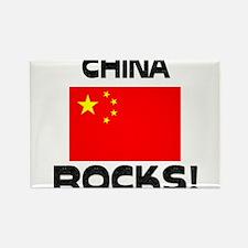 China Rocks! Rectangle Magnet