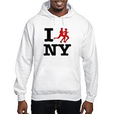 I run New York Hoodie