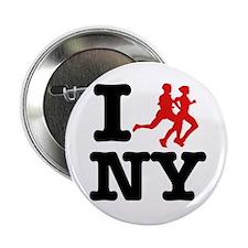 "I run New York 2.25"" Button"
