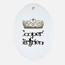 Cooper's Girlfriend Oval Ornament