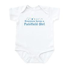 Loves Fairfield Girl Infant Bodysuit