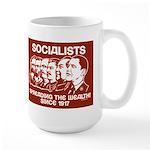Socialists Obama Large Mug
